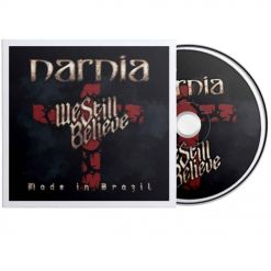 narnia - we still believe - made in brazil - digipak cd