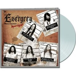 EVERGREY - Monday Morning Apocalypse / WHITE LP Gatefold