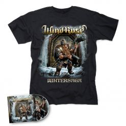 WIND ROSE - Wintersaga / CD + T- Shirt Bundle