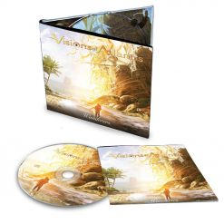 57545 visions of atlantis wanderers digipak cd symphonic metal