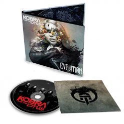 kobra and the lotus evolution digipak cd