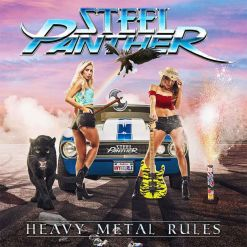 steel panther heavy metal rules cd