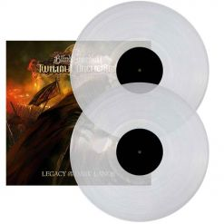 blind guardians twillight orchestra - legacy of the dark lands - clear 2- lp gatefold