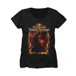 blind guardian`s twillight orchestra - legacy of the dark lands - girlie shirt