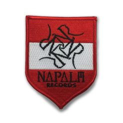 napalm records - österreich - patch
