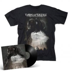 Dawn Of Disease - Processions of Ghosts - Black LP + T-Shirt