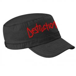 destruction logo army cap