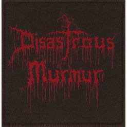disastrous murmur logo patch