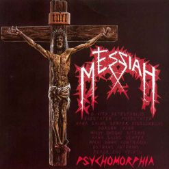 messiah - psychomorphia - translucent rote lp - napalm records
