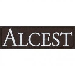 alcest logo patch