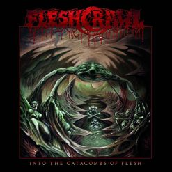 fleshcrawl - into the catacombs of flesh - cd - napalm records