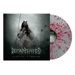 decapitated - carnival is forever - clear white red splatter lp  napalm records