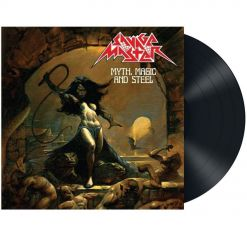 savage master - myth, magic and stell - black lp - napalm records