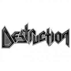 destruction logo pin