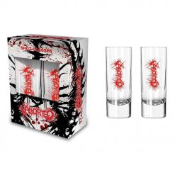 58556 aborted logo shot glasses