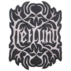 heilung - logo cut out - backpatch - napalm records