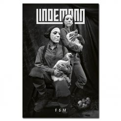 lindemann - f & m - harcoverbook cd - napalm records