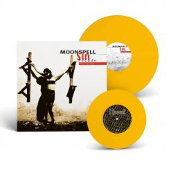 "moonspell sin pecado 2nd skin yellow lp gatefold 7"" ep"