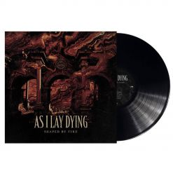 as i lay dying - shaped by fire - black lp