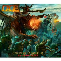 cage science of annihilation digipak cd