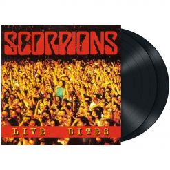 scorpions - live bites - black 2- lp - napalm records