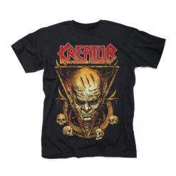kreator face horns shirt