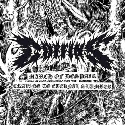 coffins craving to ternal slumber march of despair