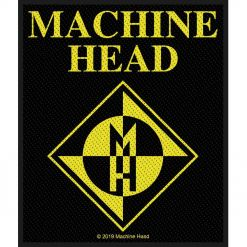 machine head diamond logo patch