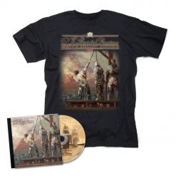 ye banished privateers hostis humani generis cd t shirt bundle napalm records