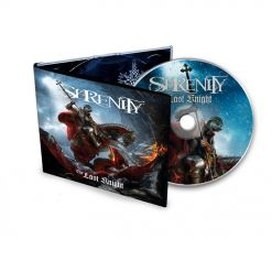 59361 serenity the last knight digipak cd symphonic metal