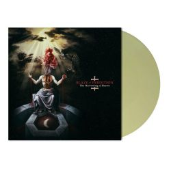 blaze of perdition the harrowing of hearts pale yellow green lp