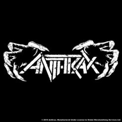 anthrax death hands coaster