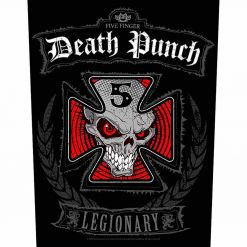 five finger death punch legionary backpatch