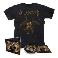 crematory unbroken digipak cd t shirt bundle
