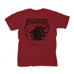 59905 killswitch engage lion emblem t-shirt