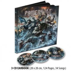 powerwolf best of the blessed 3 cd earbook