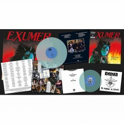 "exumer possessed by fire electric blue lp 7"" single"