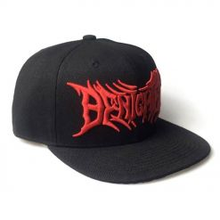 aborted logo snapback back