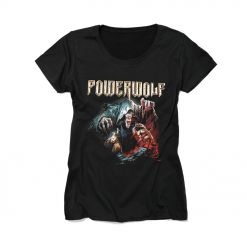 powerwolf vade satana ladies shirt napalm records