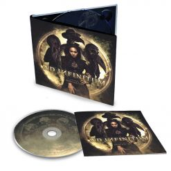 60360 ad infinitum chapter I - monarchy - digipak cd symphonic metal
