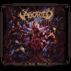 aborted la grand mascarade ep cd