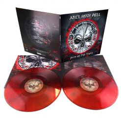 axel rudi pell sign of the times red black 2 lp gatefold