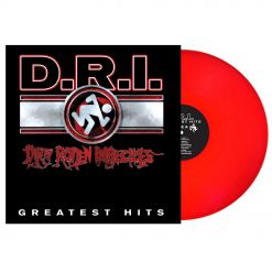 d.r.i. greatest hits red vinyl