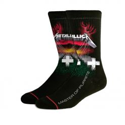 metallica master of puppets socks