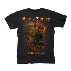 grave digger fields of blood t shirt