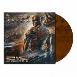 riot rock wold rusty orange brown marbled 2 vinyl
