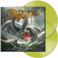 brothers of metal - emblas saga - clear yellow 2-lp gatefold - napalm records