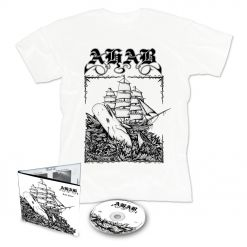 ahab live prey digipak cd + t shirt bundle