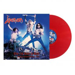 venom the 7th date of hell live at hammersmith 1984 red vinyl