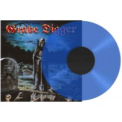 grave digger the grave digger clear blue vinyl